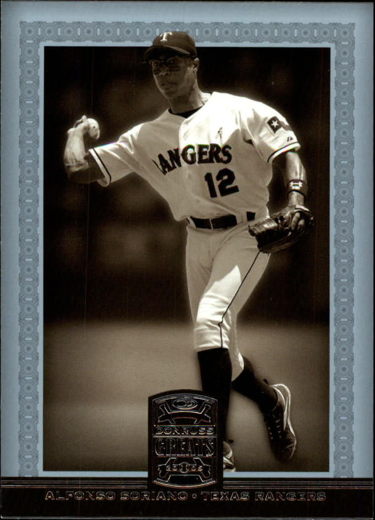 2005 Donruss Greats #120 Alfonso Soriano