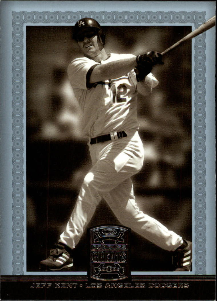 2005 Donruss Greats #124 Jeff Kent