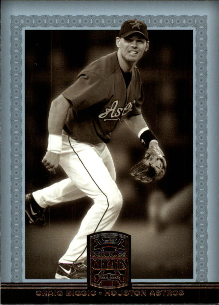 2005 Donruss Greats #129 Craig Biggio