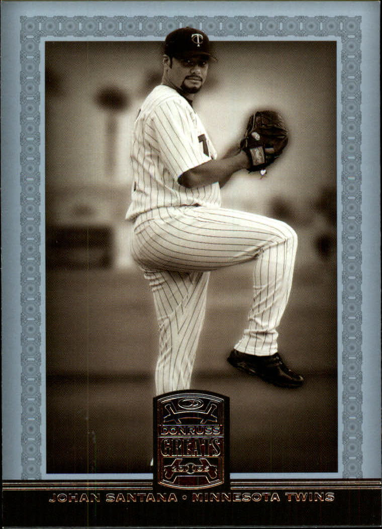 2005 Donruss Greats #131 Johan Santana