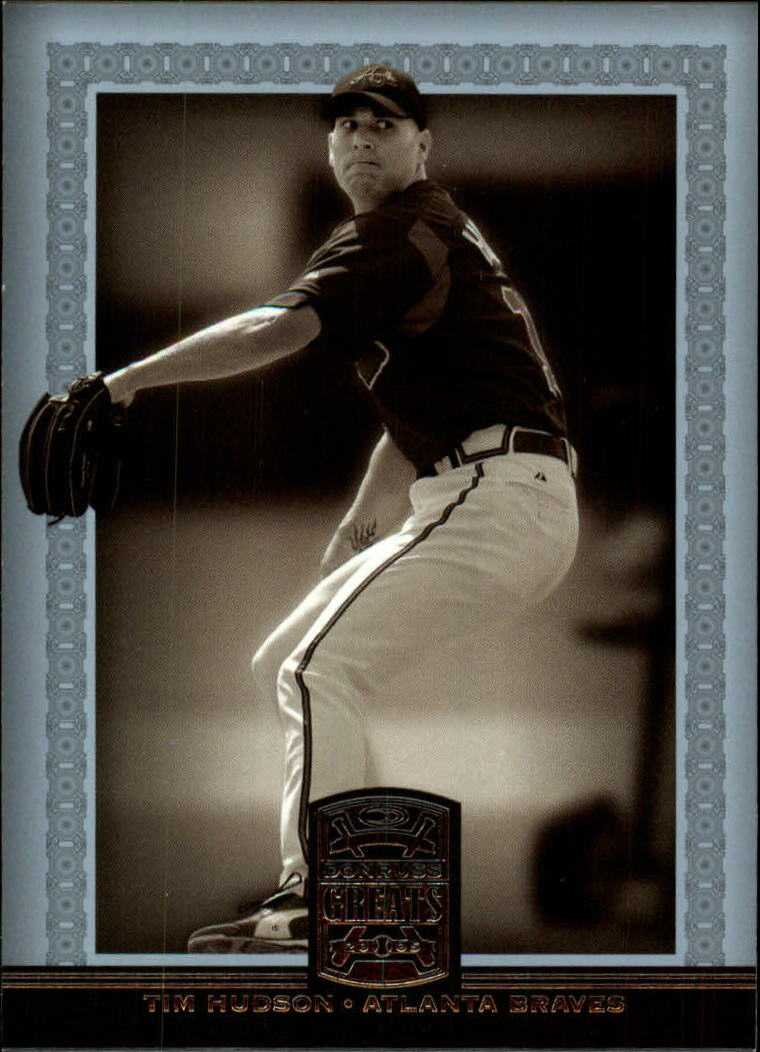 2005 Donruss Greats #133 Tim Hudson front image