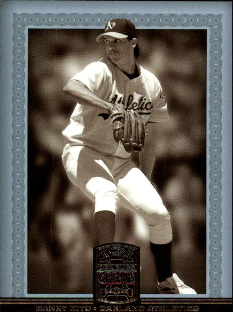 2005 Donruss Greats #134 Barry Zito