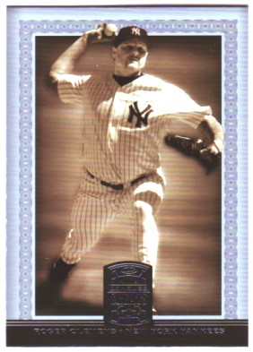 2005 Donruss Greats #146 Roger Clemens Yanks