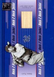 2005 Donruss Elite Back 2 Back Jacks #4 Babe Ruth/50 front image