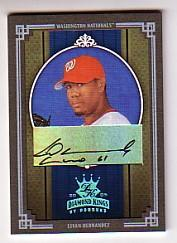 2005 Diamond Kings Signature Platinum #414 Livan Hernandez