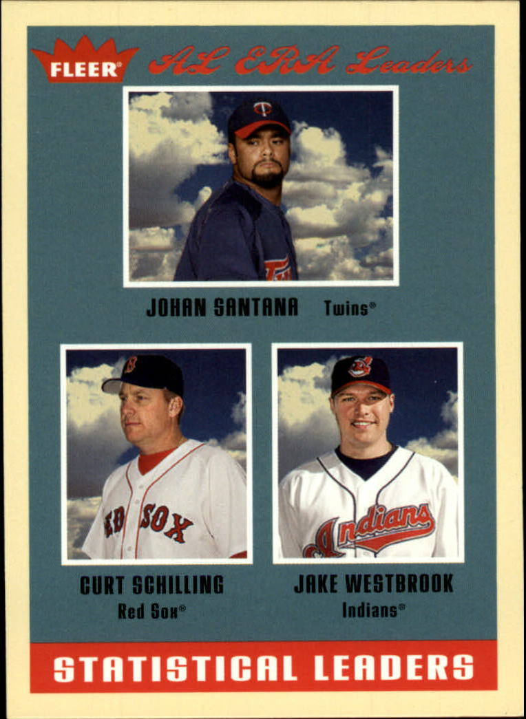 2005 Fleer Tradition #1 Johan/Schil/Westbrook SL