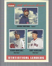 2005 Fleer Tradition #5 Johan/Pedro/Schilling SL