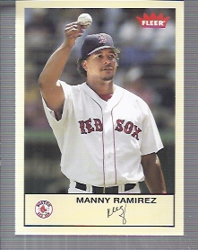 2005 Fleer Tradition #49 Manny Ramirez