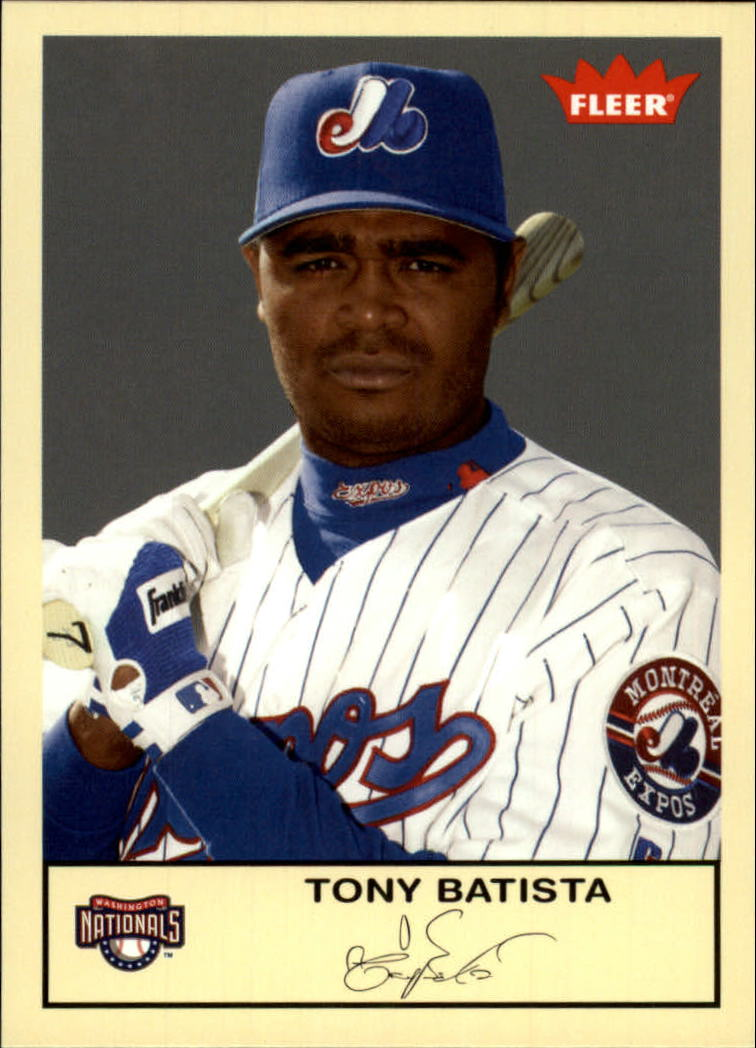 2005 Fleer Tradition #78 Tony Batista