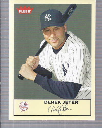 2005 Fleer Tradition #99 Derek Jeter