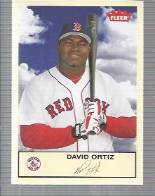 2005 Fleer Tradition #157 David Ortiz