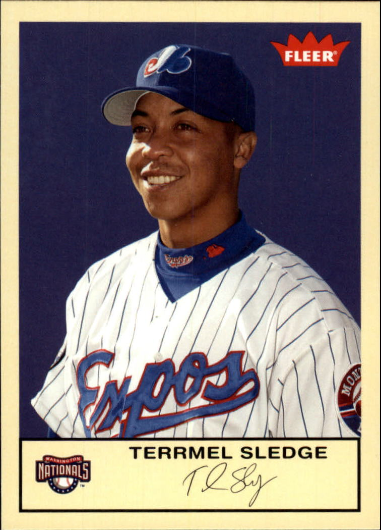 2005 Fleer Tradition #177 Terrmel Sledge