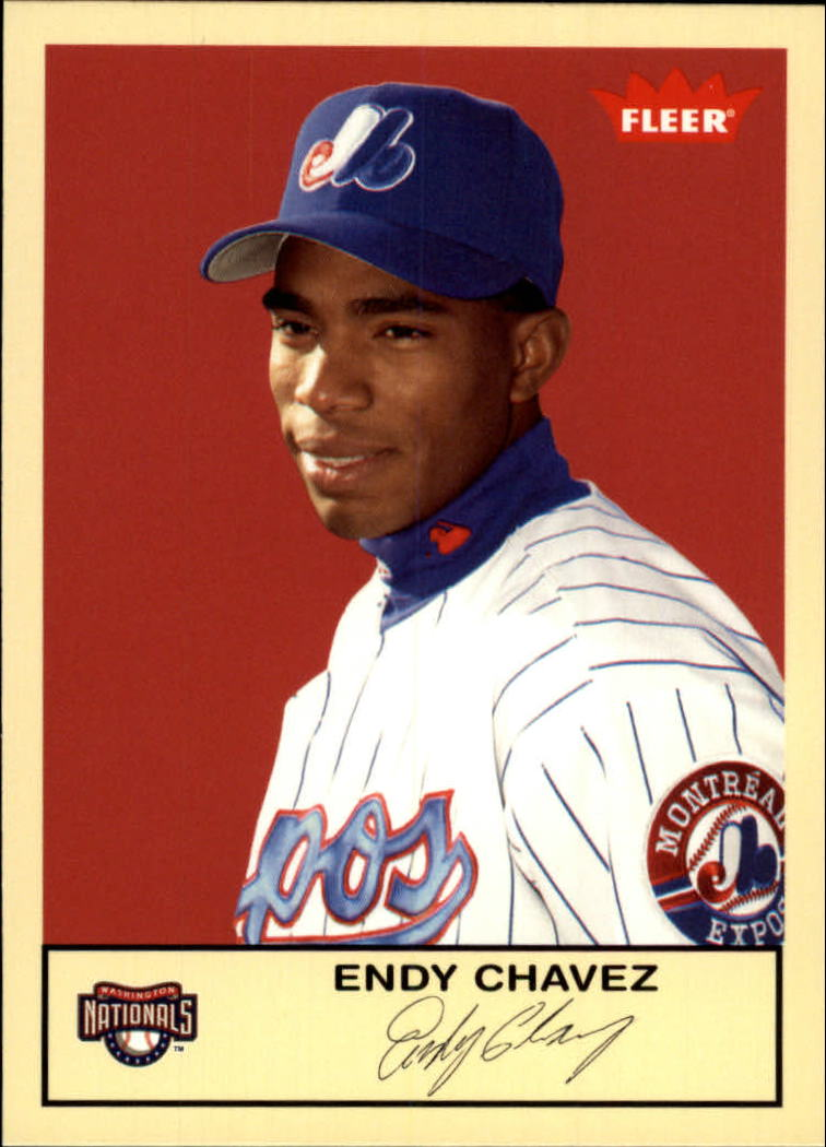 2005 Fleer Tradition #179 Endy Chavez