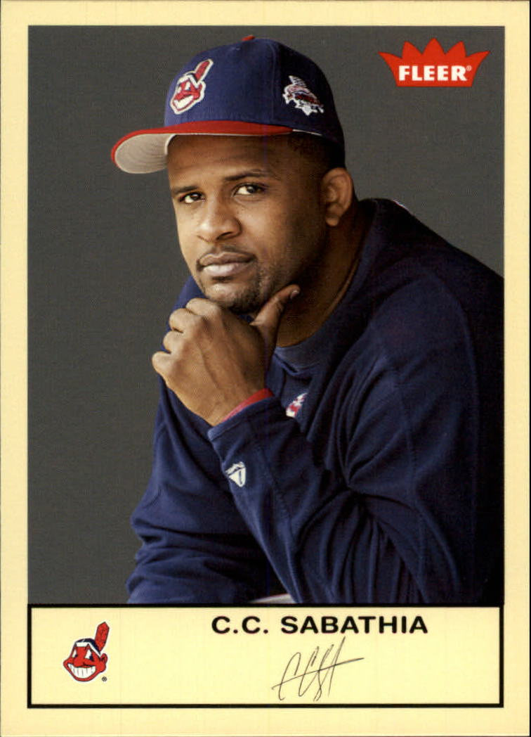 2005 Fleer Tradition #207 C.C. Sabathia