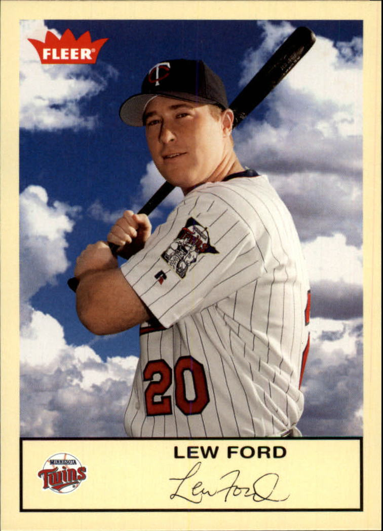 2005 Fleer Tradition #259 Lew Ford
