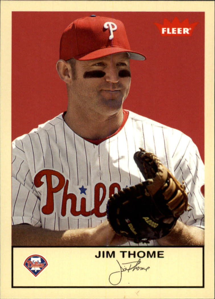 2005 Fleer Tradition #261 Jim Thome
