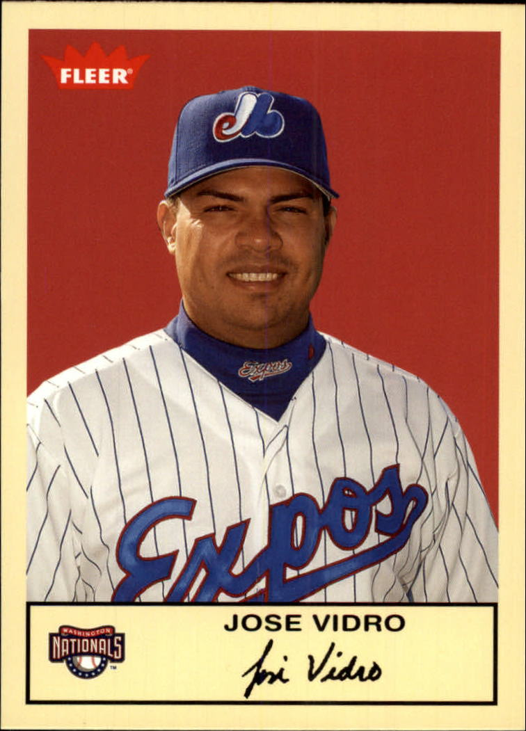 2005 Fleer Tradition #271 Jose Vidro