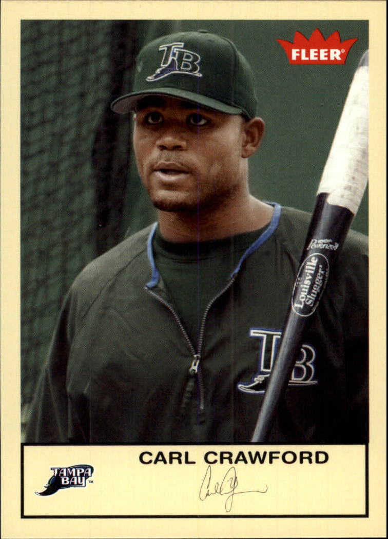 2005 Fleer Tradition #274 Carl Crawford