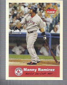 2005 Fleer Tradition #334 Manny Ramirez AW