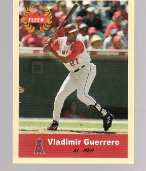 2005 Fleer Tradition #340 Vladimir Guerrero AW