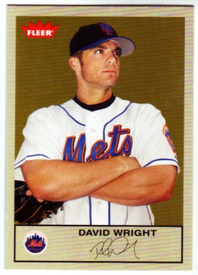 2005 Fleer Tradition Gray Backs #110 David Wright