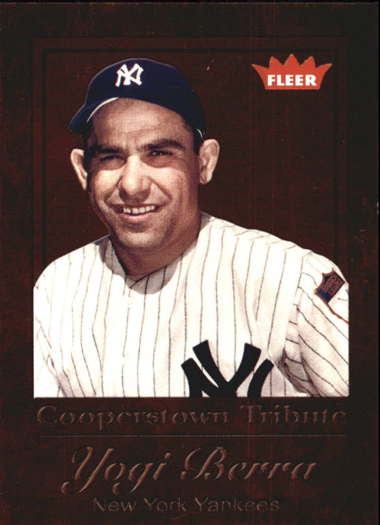 2005 Fleer Tradition Cooperstown Tribute #3 Yogi Berra/1972