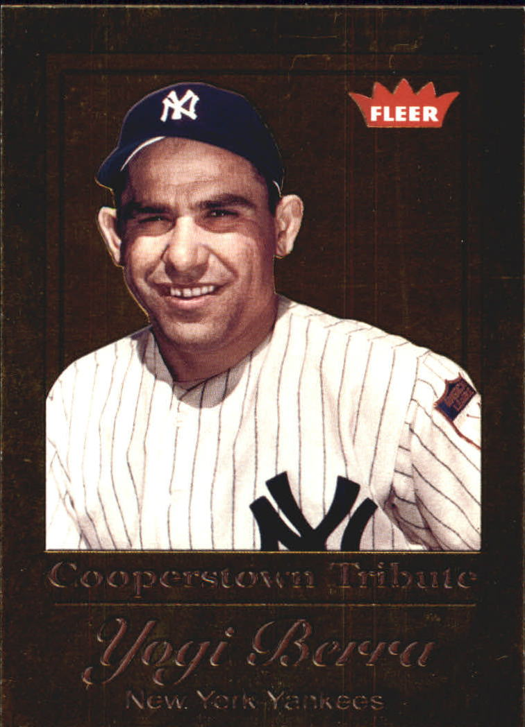 2005 Fleer Tradition Cooperstown Tribute Gold #3 Yogi Berra