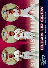 2005 Leaf Clean Up Crew #1 Pujols/Edmonds/Rolen