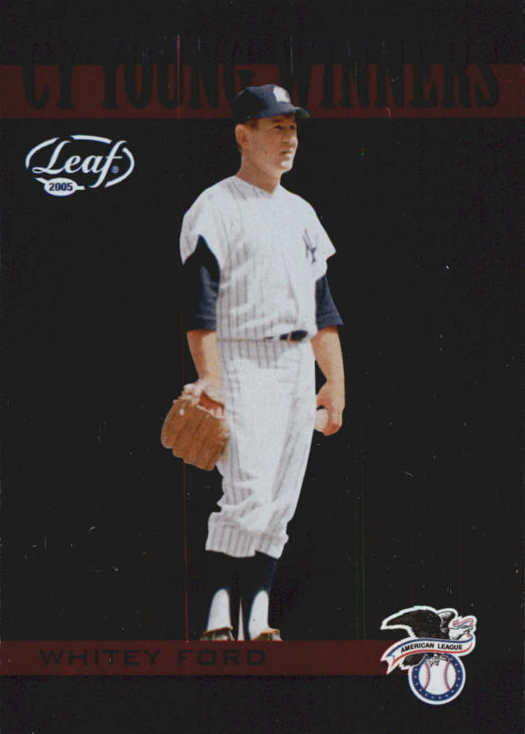 2005 Leaf Cy Young Winners #2 Whitey Ford