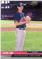 2005 Leaf Black #60 Cliff Lee