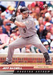 2005 Leaf Black #88 Jeff Bagwell