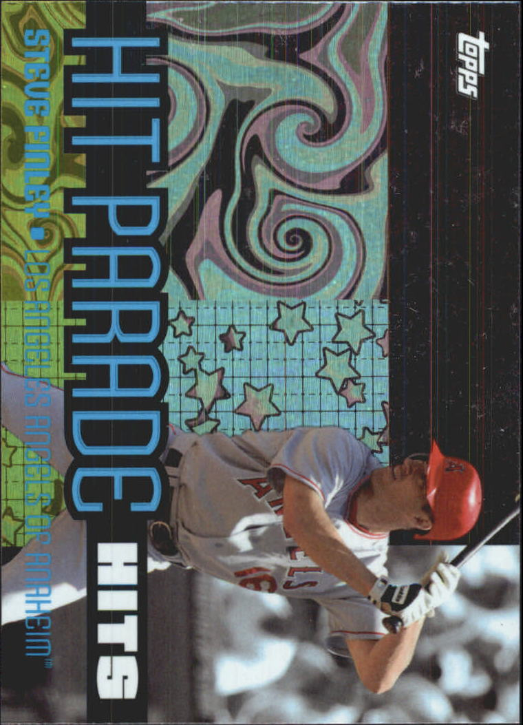 2005 Topps Hit Parade #HIT6 Steve Finley HIT