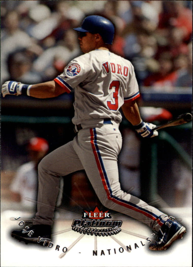 2005 Fleer Platinum #16 Jose Vidro