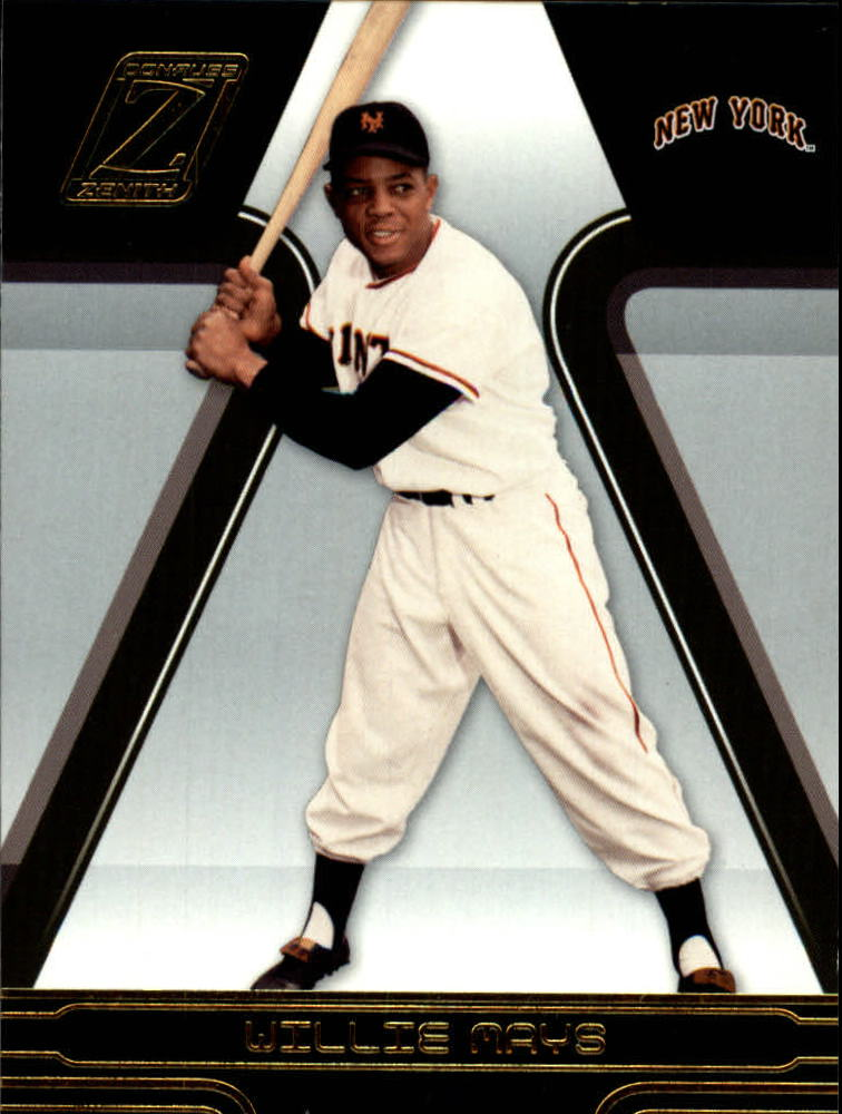 2005 Zenith #245 Willie Mays
