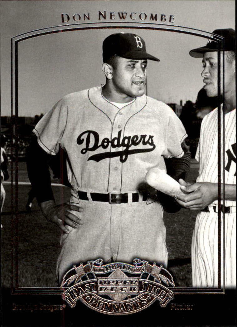 2005 UD Past Time Pennants #21 Don Newcombe