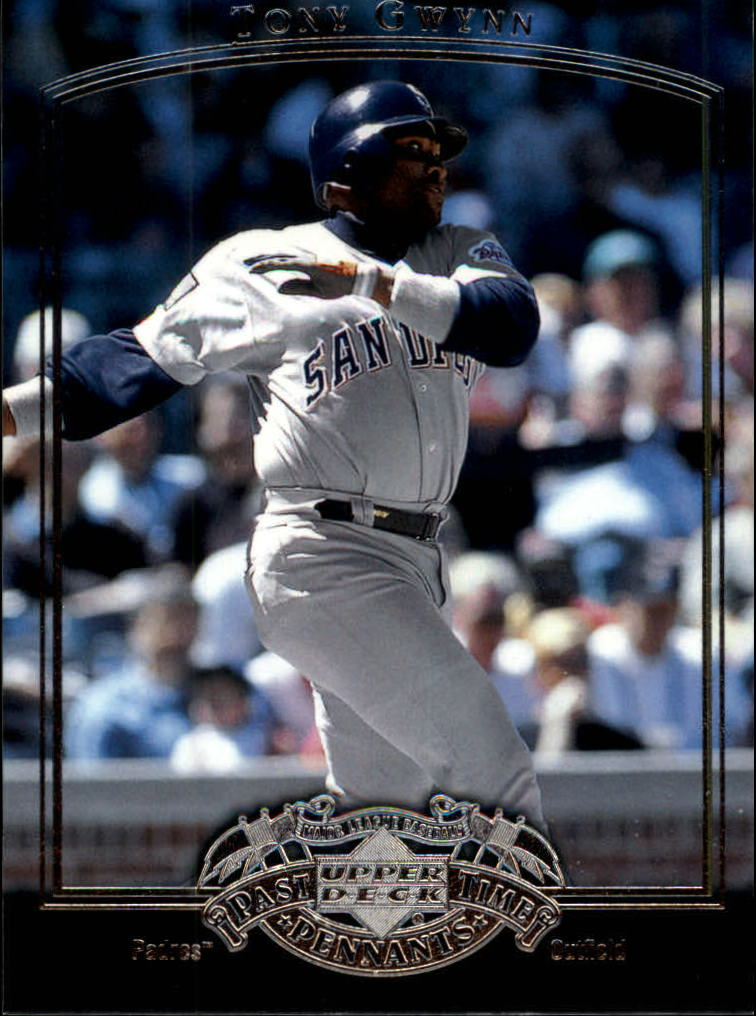 2005 UD Past Time Pennants #76 Tony Gwynn