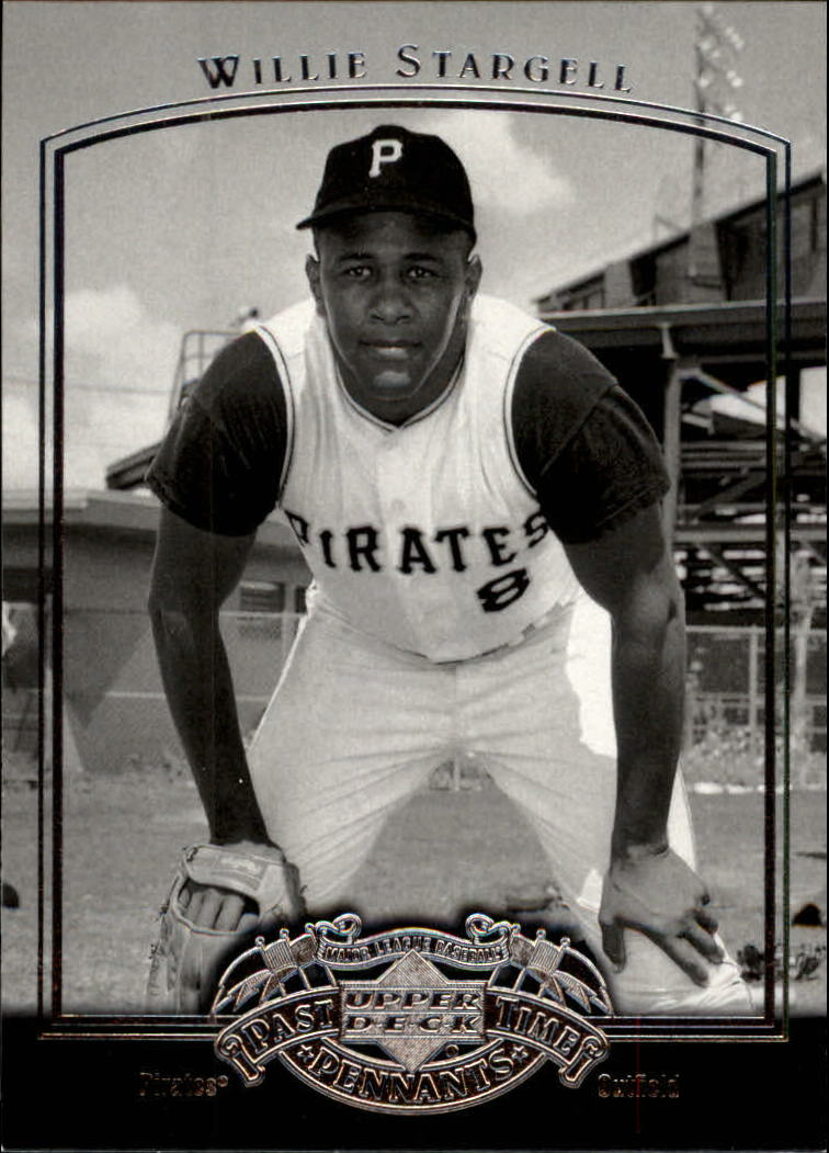 2005 UD Past Time Pennants #89 Willie Stargell