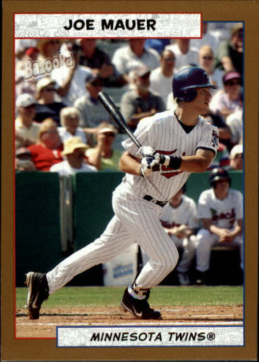 2005 Bazooka Gold Chunks #68 Joe Mauer