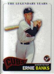 2005 Topps Pristine Legends #6 Ernie Banks C