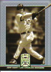 2005 Donruss Greats Silver HoloFoil #124 Jeff Kent