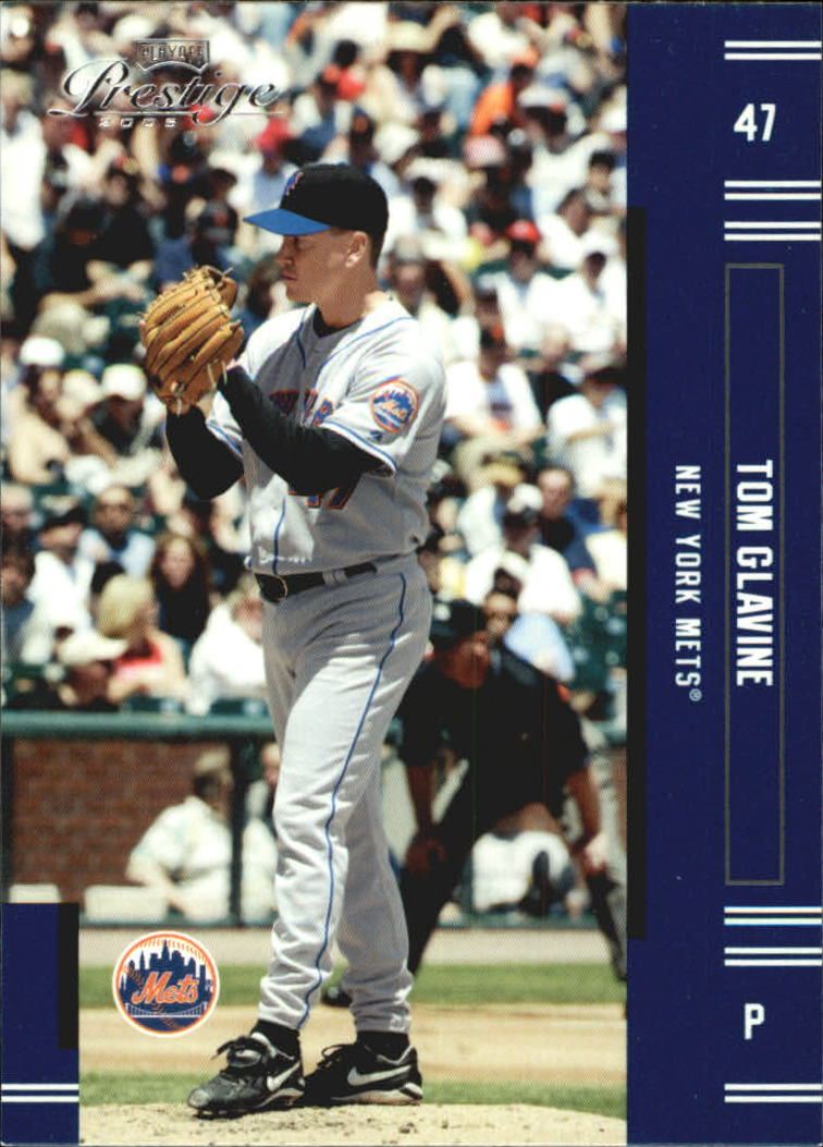 2005 Playoff Prestige #47 Tom Glavine