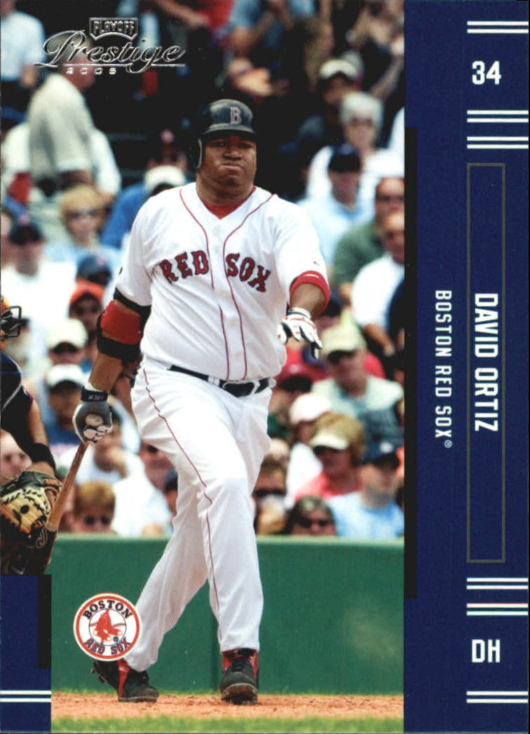 2005 Playoff Prestige #134 David Ortiz