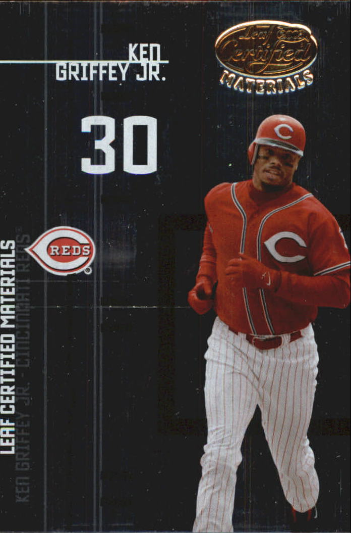 2005 Leaf Certified Materials Preview #9 Ken Griffey Jr.
