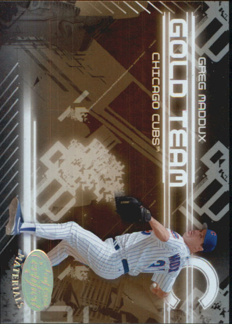 2005 Leaf Certified Materials Gold Team #7 Greg Maddux