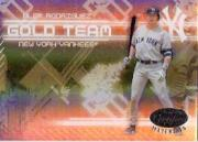2005 Leaf Certified Materials Gold Team Mirror #2 Alex Rodriguez