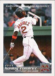 2005 Eastern League Top Prospects Grandstand #24 Hanley Ramirez