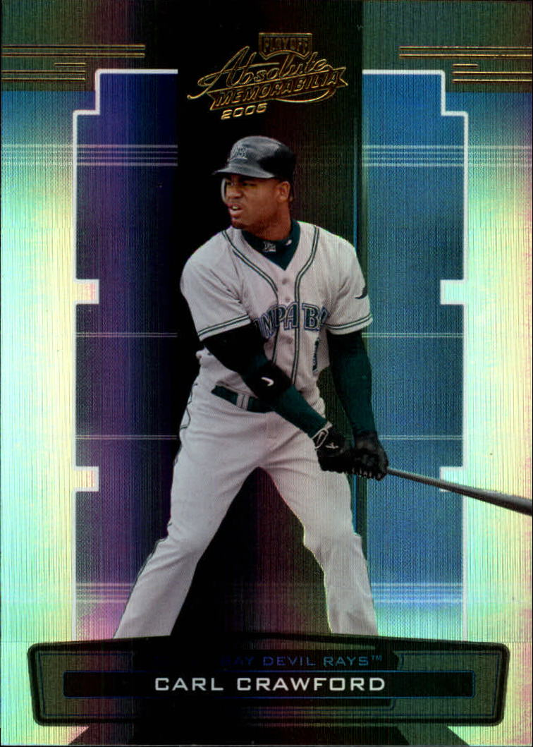 2005 Absolute Memorabilia #14 Carl Crawford