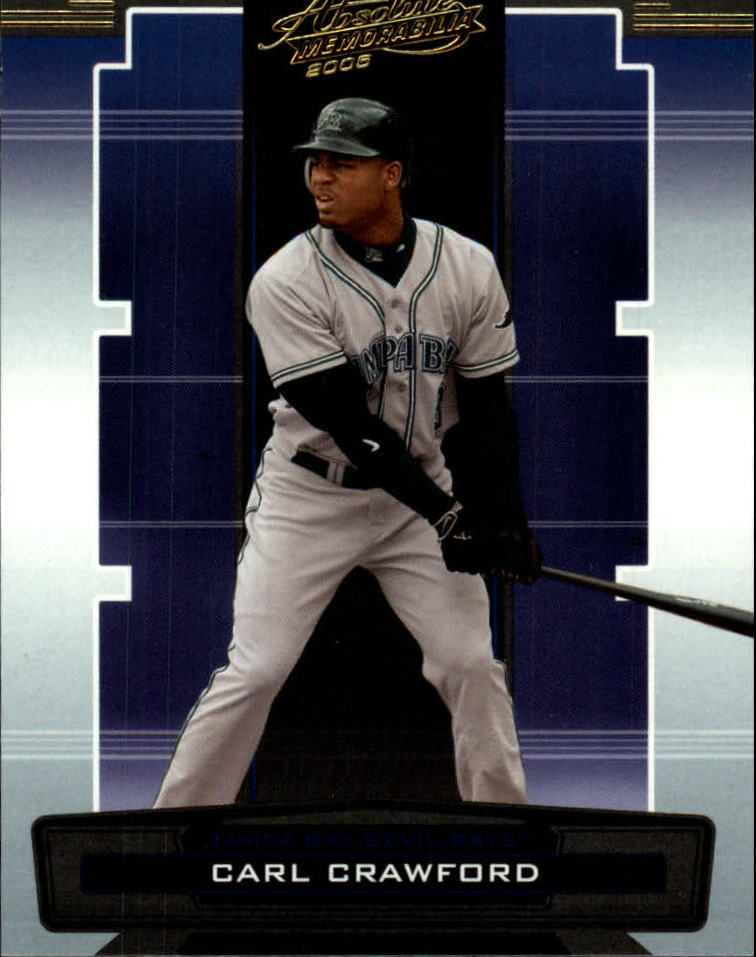 2005 Absolute Memorabilia Retail #14 Carl Crawford