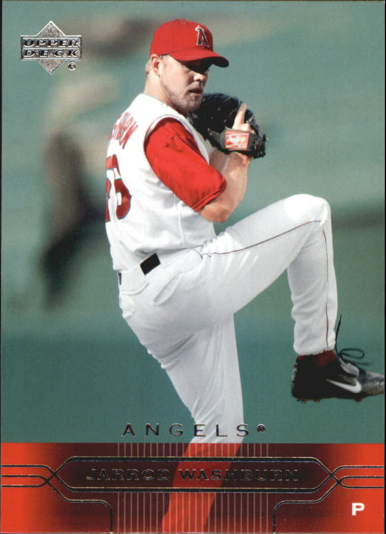 2005 Upper Deck #4 Jarrod Washburn