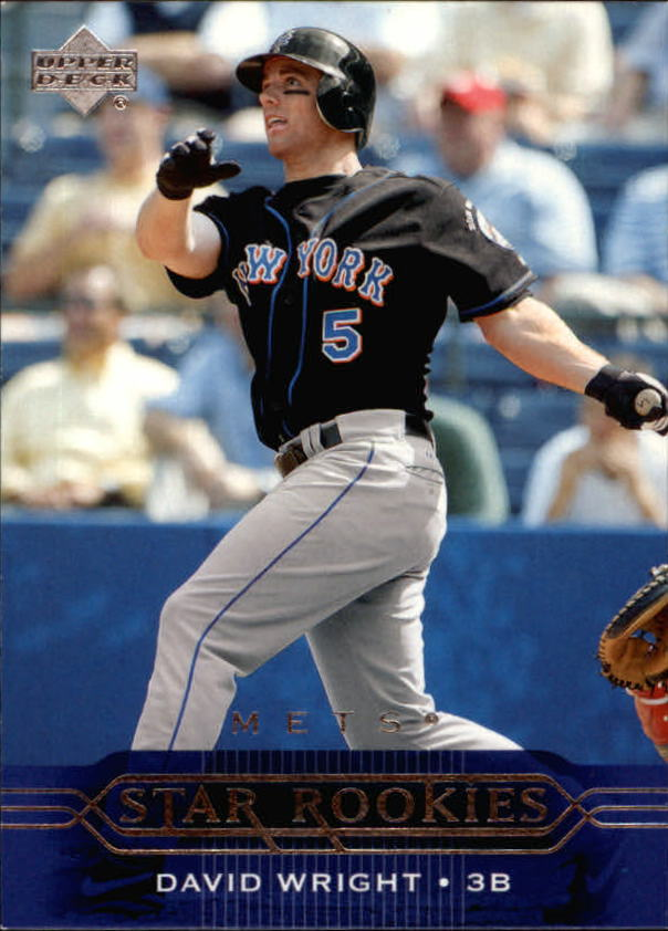 2005 Upper Deck #217 David Wright SR front image